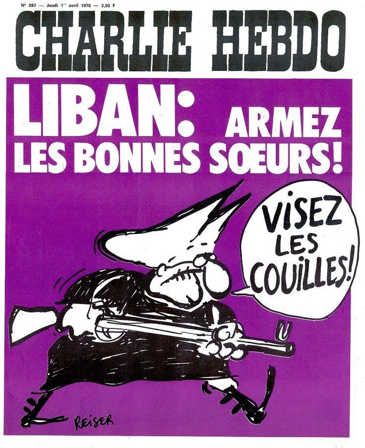 Charlie Hebdo - # 281 - 1er Avril 1976 - Couverture : Reiser