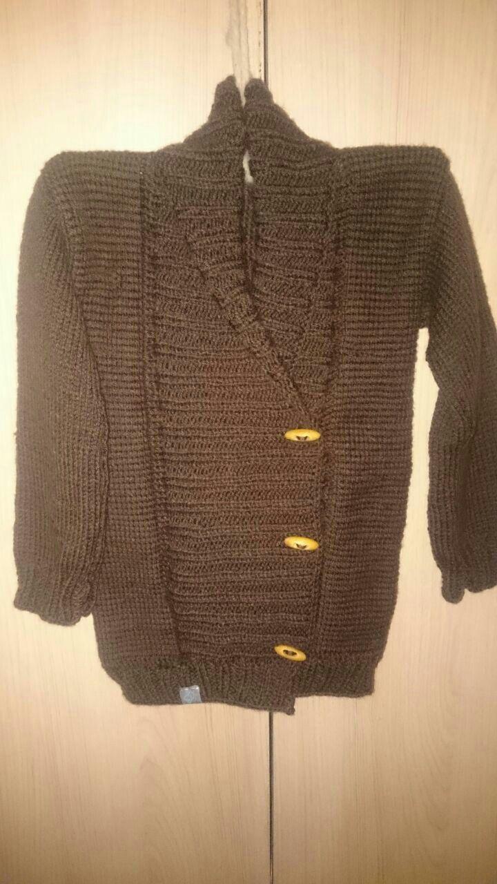 Chaleco,  suéter para Santi!!!