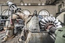 Francesco Radino, Centrale idroelettrica di Fraele, Valtellina, 2016, stampa su carta cotone, cm 67x100