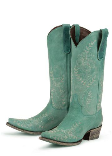 loving these !!: Cowgirl Boots, Blue Cowboys Boots, Boots Women, Leather Fashion, Turquoise Cowboys Boots, Lane Boots, Ashlee Lace, Turquoise Boots, Cowboys Boots3
