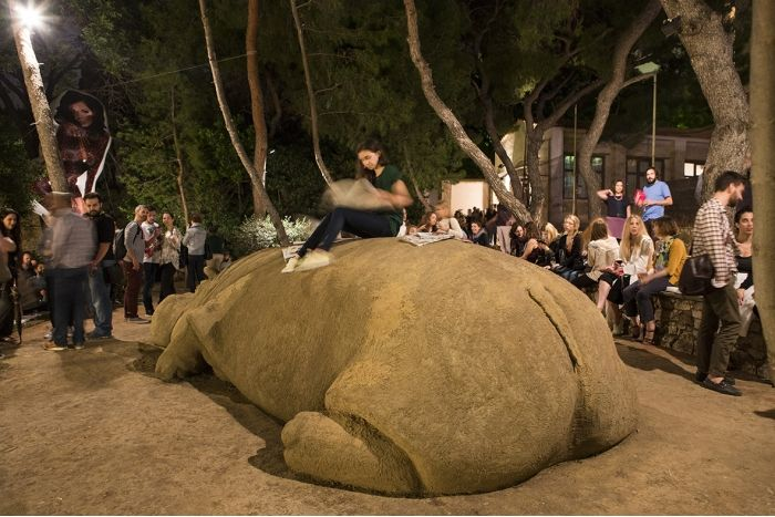 Exhibition Opening | TERRAPOLIS | French School, Athens | ©NataliaTsoukala