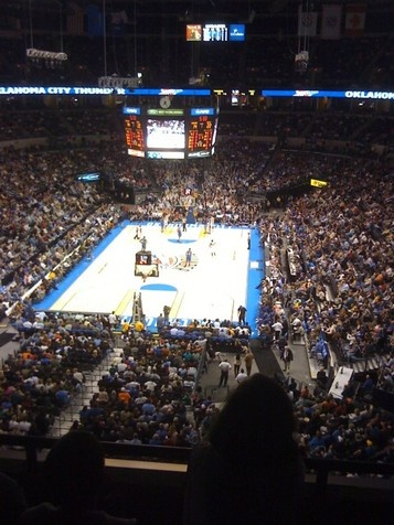 Go to an OKC Thunder game. - Did it!