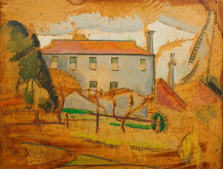 Roland Shakespeare Wakelin (1887-1971) Tasmanian Farmhouse, c. 1934