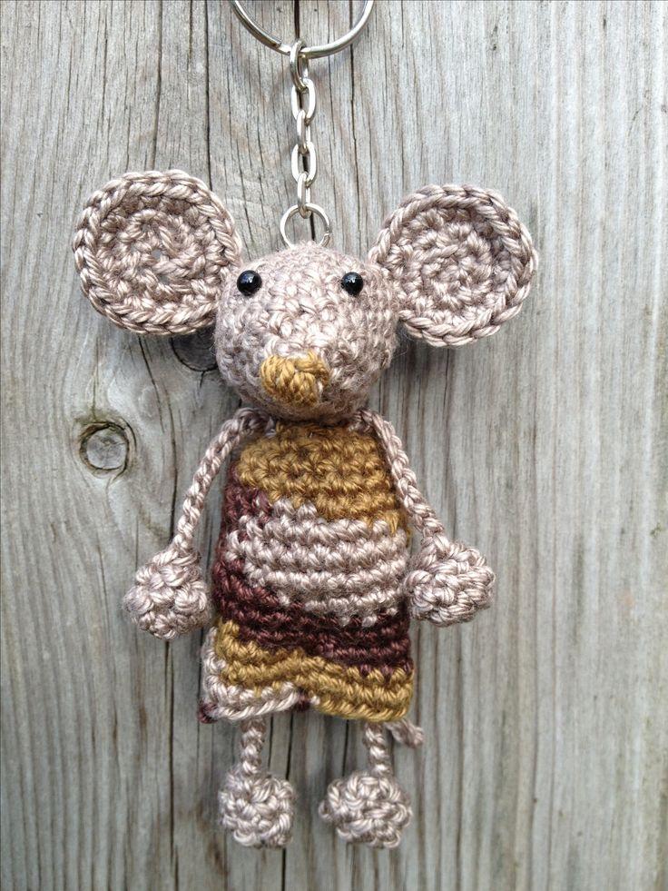 Bijhorende sleutelhanger #crochet #keyholder