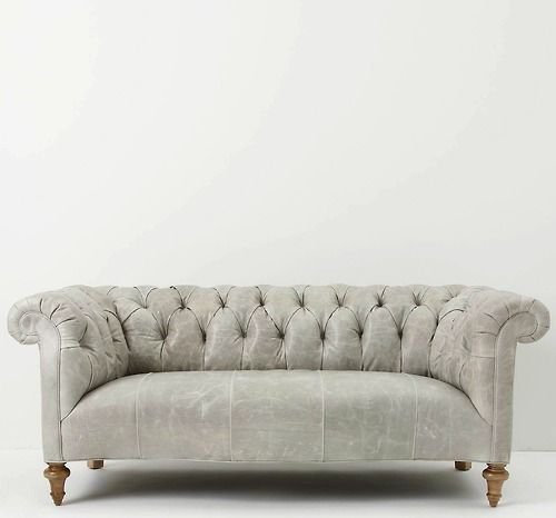Oh hello, lovely grey chesterfield.