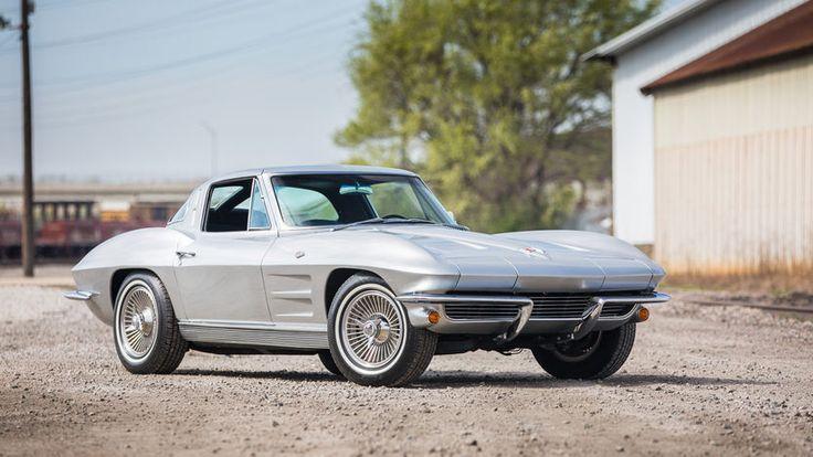 1963 Chevrolet Corvette Split Window Coupe presented as Lot F163.1 at Houston, TX