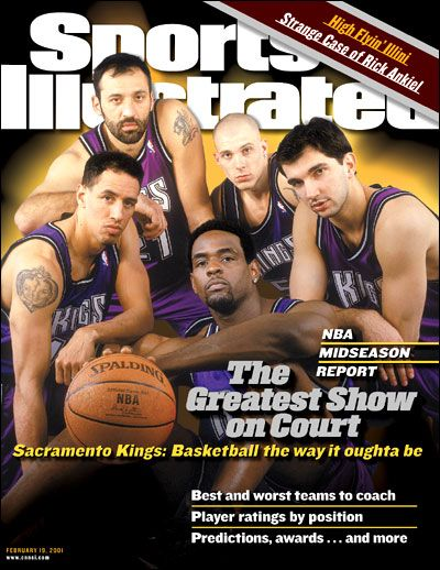 The 2000-2001 Sacramento Kings - The Greatest Show on Court. I also miss those purple jerseys.