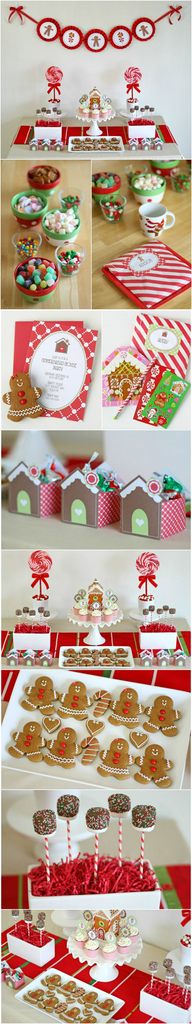 Christmas Inspiration ● Gingerbread House Decorating Party