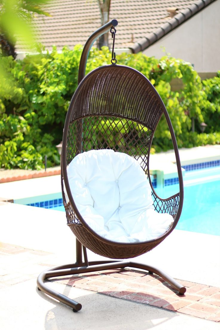 Alpine Swing Chair with Cushions