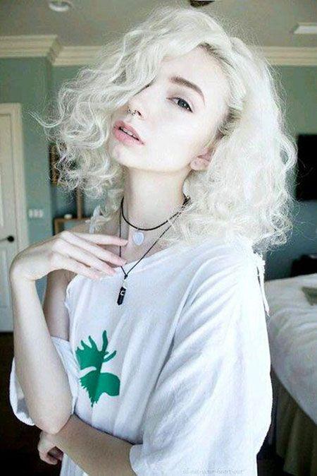 23 kurze lockige blonde Haar-Ideen