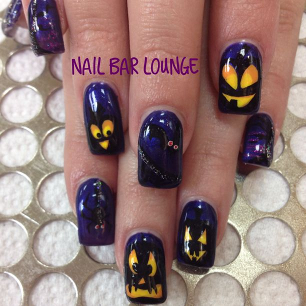 Pumpkin Partay #nails #nailart #naildesign #halloween @nsinails @NSIUK