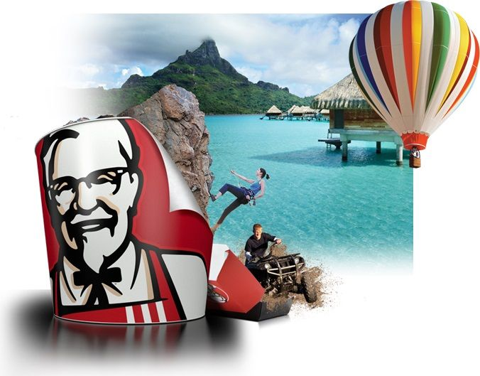 KFC Canada Contest Win a $10,000 Vacation and other Prizes!