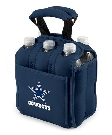 Take a look at this Navy Dallas Cowboys Insulated Six-Pack Carrier by Picnic Time on #zulily today!