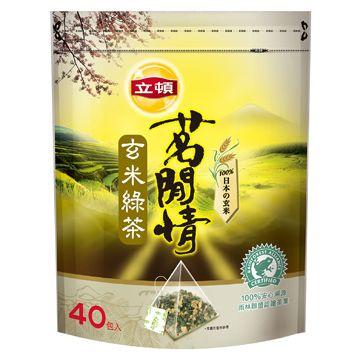 立頓茗閒情 玄米綠茶包(40入x12包/箱) - PChome 24h購物