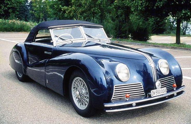Alfa Romeo 6C 2500 SS Spider Pininfarina (1939)