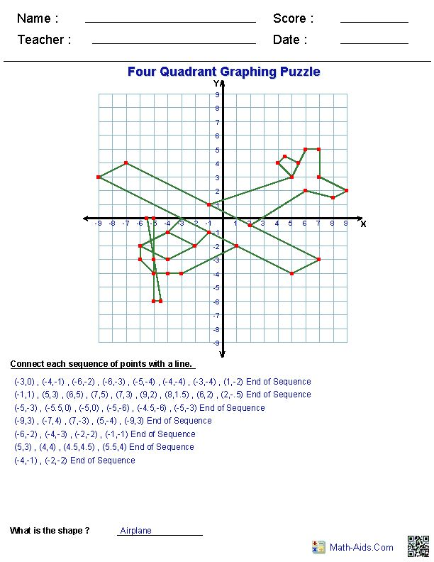 ... Worksheets- Free | math | Pinterest | Quad, Planes and Math sheets