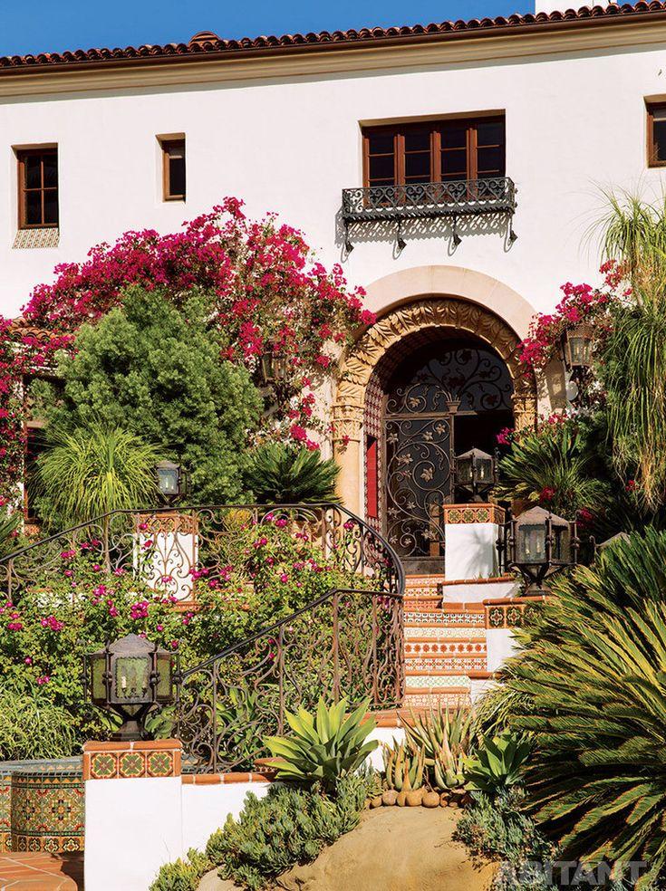 Декор лестницы в мексиканском стиле