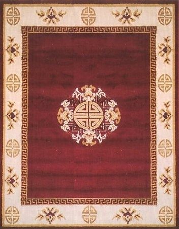 35 amazoncom traditional area rug supreme red