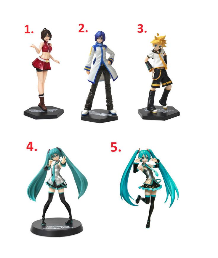 Sega Vocaloid Project Diva Arcade 2Nd Hatsune Miku Series Figure Pose Toy