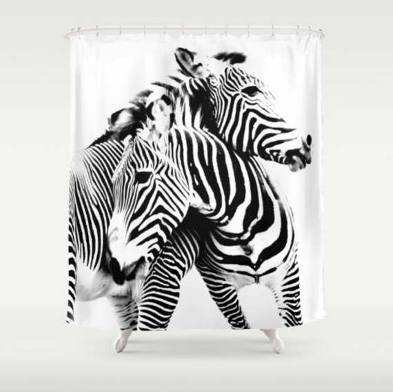 Best Zebra Bathroom Decor Ideas On Pinterest DIY Zebra - Black and white zebra bath rug for bathroom decorating ideas