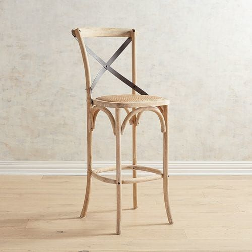 Super Our Cafe Styled Adler Stools Pair The Industrial Appeal Of A Short Links Chair Design For Home Short Linksinfo