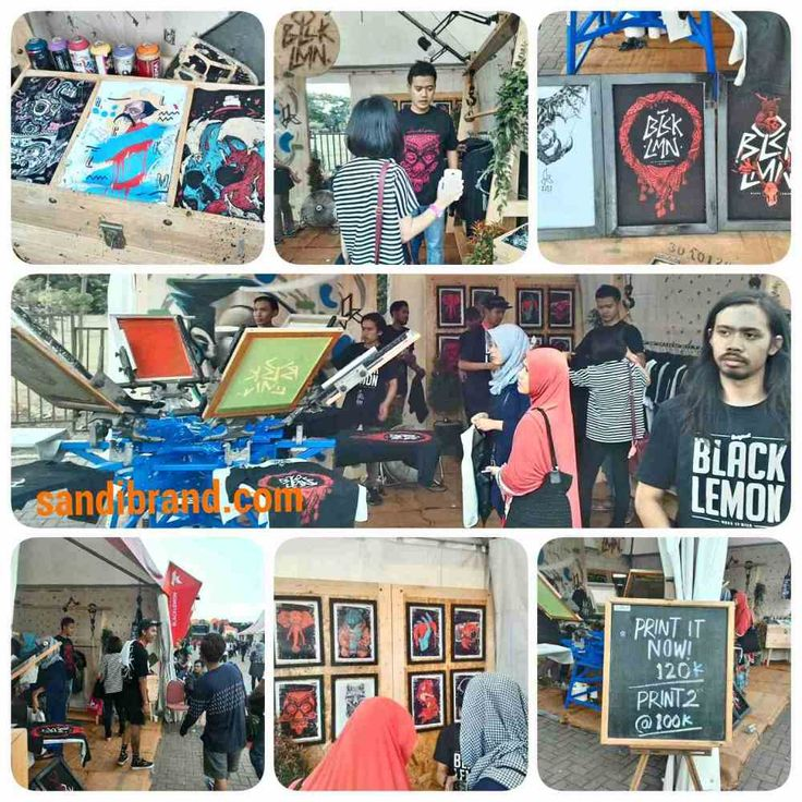Kickfest 2015 Malang pakaian, kuliner, dan band