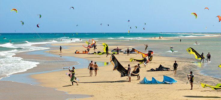 #Fuerteventura tra le migliori mete per il #kitesurf