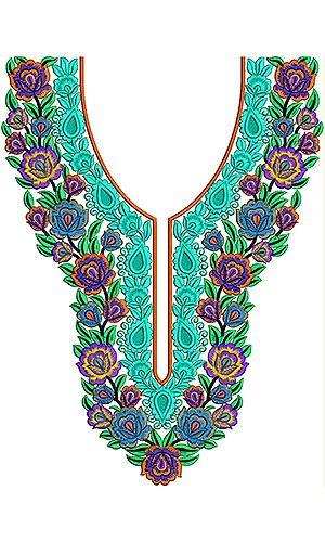 Arabian Fashion Trendy Embroidery Designs