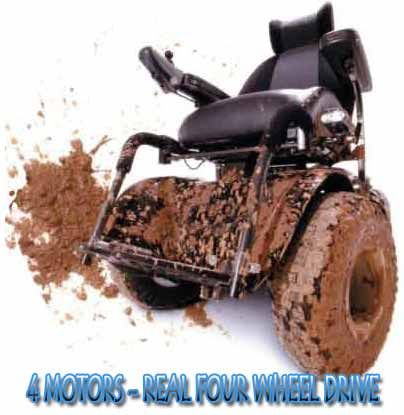 Extreem 4x4 All Terrain Power Wheelchair>>> See it. Believe it. Do it. Watch thousands of spinal cord injury videos at SPINALpedia.com