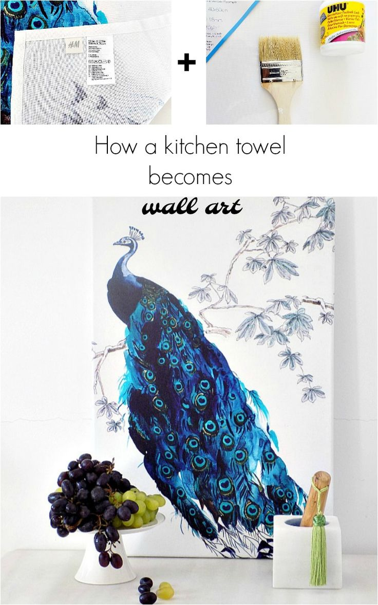 how-to-turn-a-kitchen-towel-into-canvas-art
