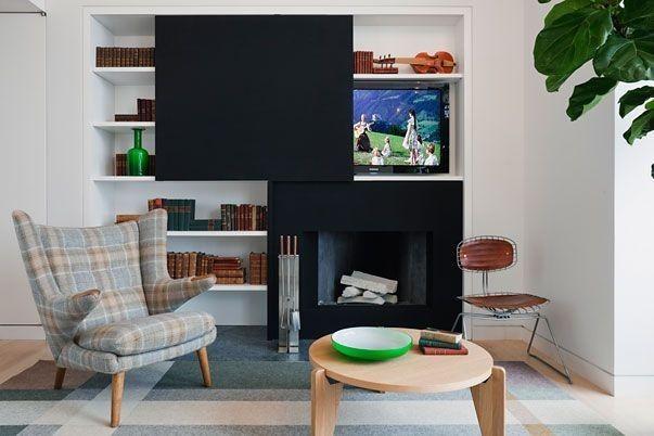 Фото из статьи: Куда спрятать телевизор: 10 интересных и практичных решений