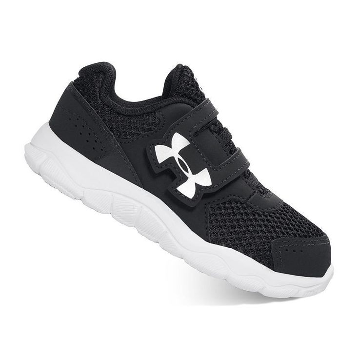 Under Armour Engage Toddler Boys' Running Shoes, Size: 10 T, Black