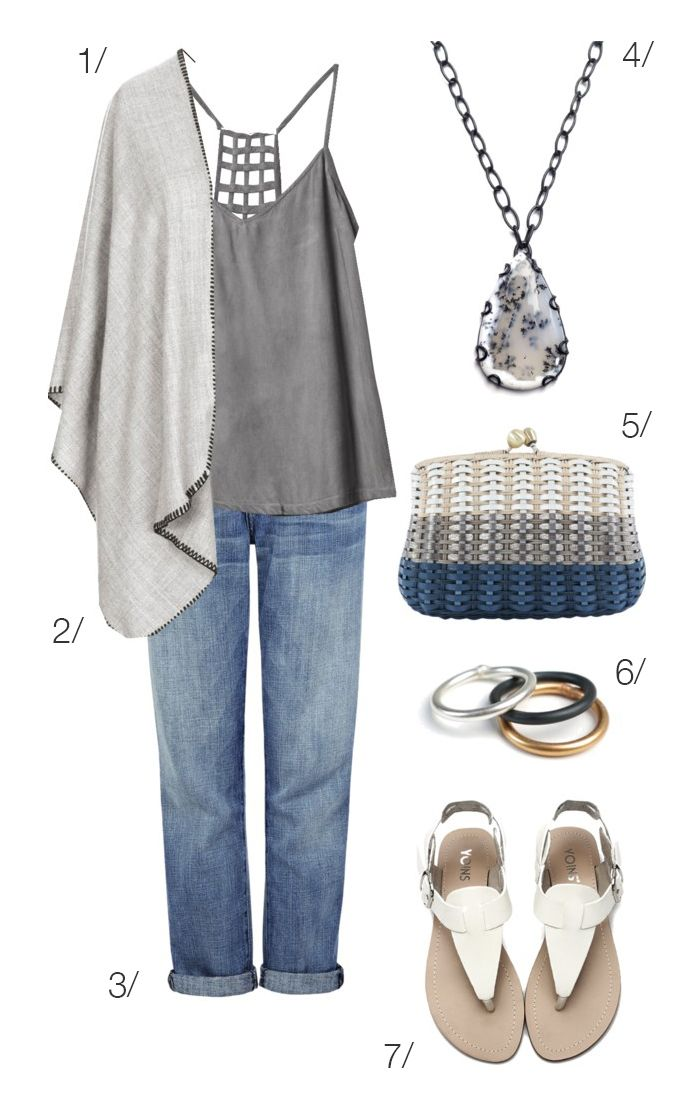 casual weekend style: grey, cream, and jeans // click through for outfit details