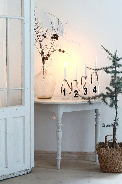 We love the idea of this Scandi Christmas inspiration almost as much as we love their tv dramas!