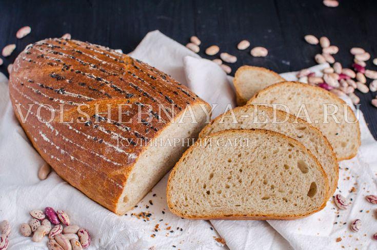 Хлеб на отваре фасоли