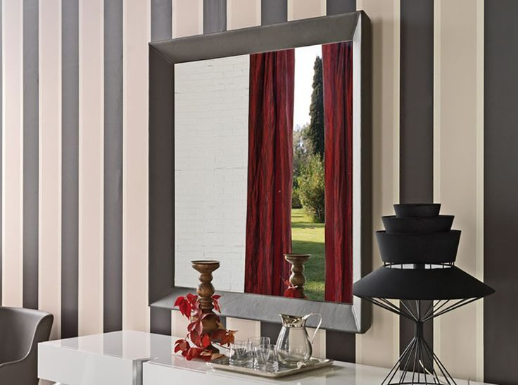 Taxedo Square Wall Mirror by Cattelan Italia - $1,295.00