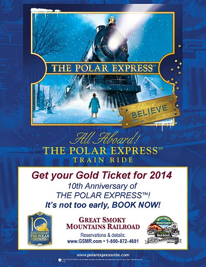 1000 images about bryson city nc great smoky mtn rr on for What is the best polar express train ride