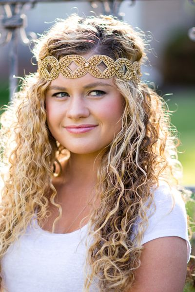 curly hair with headband styles 17 best images about hair accessories on 6850