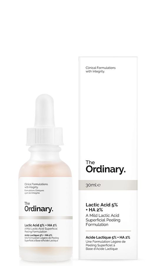 $6.50 Lactic Acid 5% + HA 2% - 30ml                   -----About-----    -- Lactic Acid is an Alpha Hydroxy Acid (AHA), a chemical exfoliant used to resurface and retexturize skin and accelerates cell turn over  --Lactic Acid is moisturizing b/c it's a humectant  --Leaves skin dry (so make sure to moisturize well)