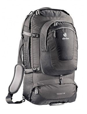 Grey traveling backpack.  35eb813f97ba0