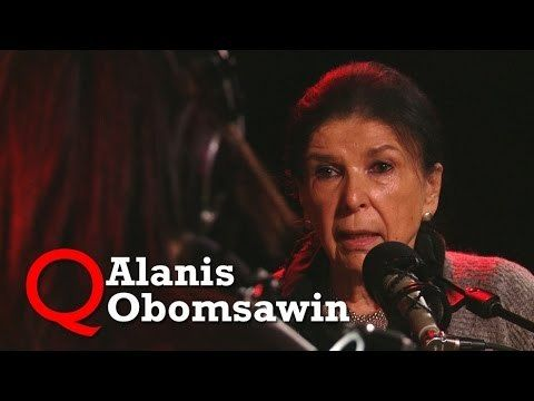 "Watch the video: ""Alanis Obomsawin brings ""Trick or Treaty"" to Studio Q"" on http://Revolvy.com"