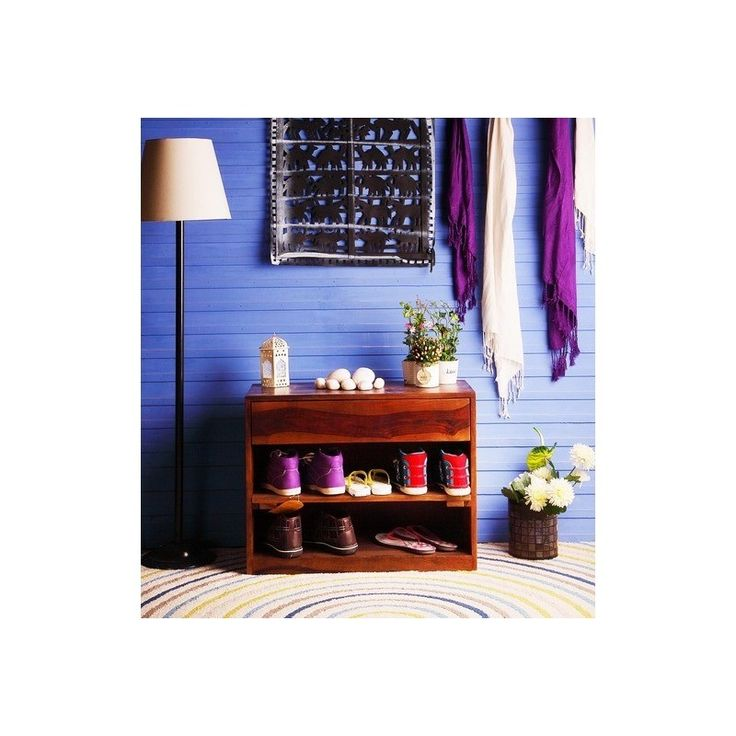 buy wooden shoe rack online india - myiconichome