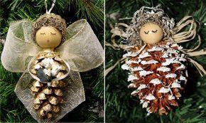 Schleife Flügel Weihnachten Deko Adventskalender Überraschung