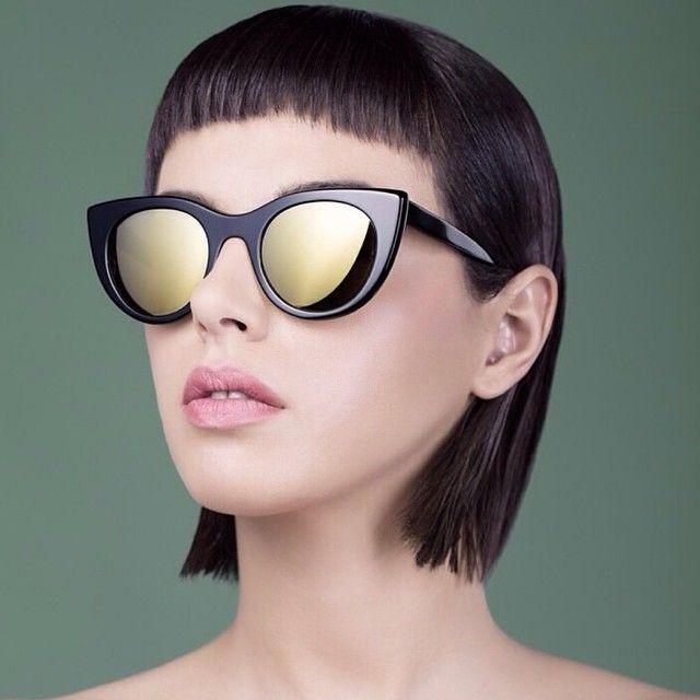 """Enerjiyi ve devamlı hareketi tasarımlarına yansıtan Kyme ilhamını """"dalga""""dan alıyor! / Kyme who reflects energy and continuous movement to its designs is inspired by """"the wave""""! #shopigo #shopigo17 #kyme #sunglasses #sunny #wave #energy #bicolor #mirror #color #style #shopnow #shoponline"""