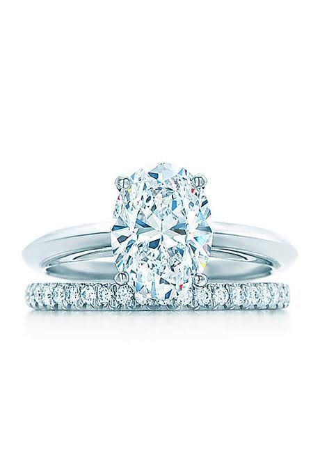 Tiffany Oval-Cut Engagement Ring