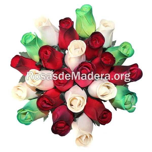 Ramo de rosas #eterno Un ramo de #flores eterno de rosas de madera, perfecto para regalar a los tuyos para que nunca que se marchite tu detalle. http://www.rosasdemadera.org/ramos-de-rosas/93-ramo-de-rosas-eterno.html