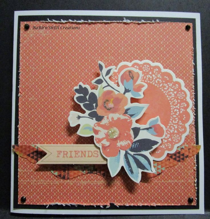 BaRb'n'ShEll Creations: Kaisercraft Blubelle Card - made by Shell