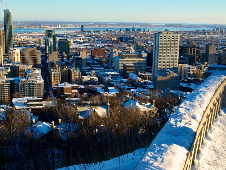 Montreal, Winter.