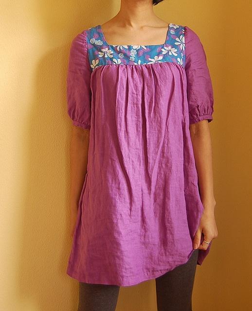 Purple Linen Tunic, via Flickr.