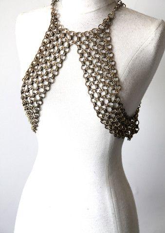 Kiya Body Chain Brass - Haati Chai Jewelry // HAATI CHAI